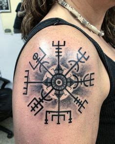 viking tattoo placement viking compass by phoenixtattoos deviantart com on