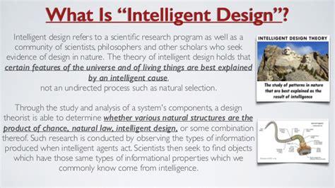 intelligent design nature journal quot human biology darwin or design quot an intelligent