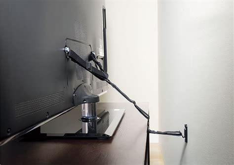 sanus antitip strap   flat panel tvs