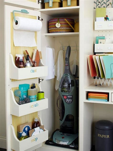 Utility Closet Organizer by Organize Utility Closet Organization Home Tips