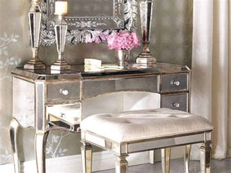 Silver Vanity Table With Mirror And Bench Wonderful Silver Vanity Table With Mirror And Bench Images Best Idea Home Design Extrasoft Us