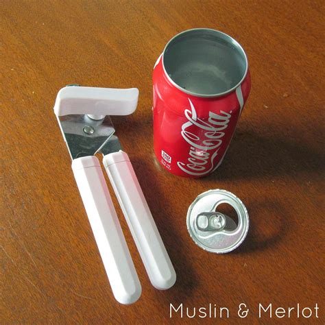 soda can craft projects soda can vase or cup muslin and merlot