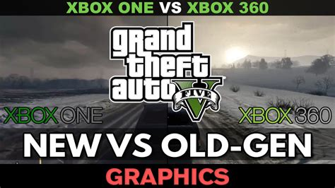 Xbox One Gta V Originall gta v xbox one vs xbox 360 comparison
