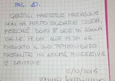 lettere per le maestre compiti a casa basta con le lettere alle maestre
