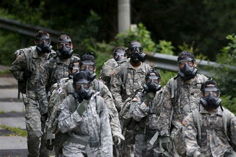 U S Army korea u s will use chemical weapons to take out