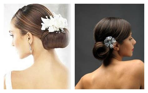 Hepburn Inspired Wedding Hairstyles by Bridal Hair Trends Posh