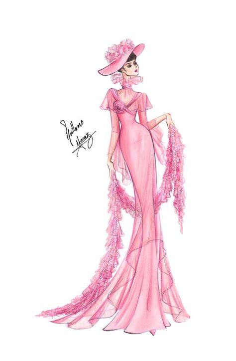 Design Vorlagen Kleider Pink Dress Sketch Pink Dresses And Pink Dress