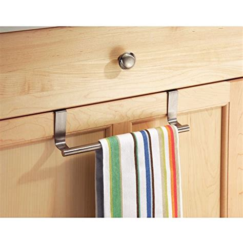 over the cabinet towel bar interdesign forma over cabinet 9 quot towel bar brushed
