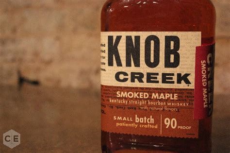 Knob Creek Review by Knob Creek Smoked Maple Bourbon Review