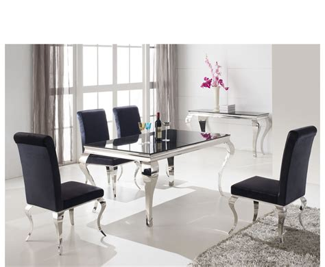 black glass dining table and chairs napoleon black glass dining table and chairs