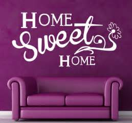 wall sticker home sweet home tenstickers home sweet home wall sticker by making statements