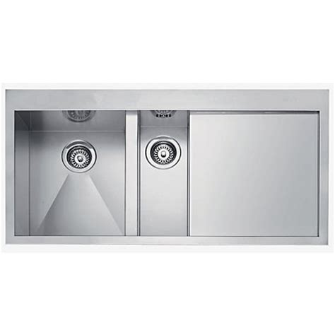 homebase kitchen sinks franke planar 251 stainless steel kitchen sink 1 5 bowl