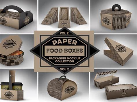 95 realistic free amp premium food box mockups creative