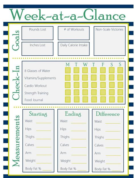 printable exercise planner free printable fitness planner saving dollars sense
