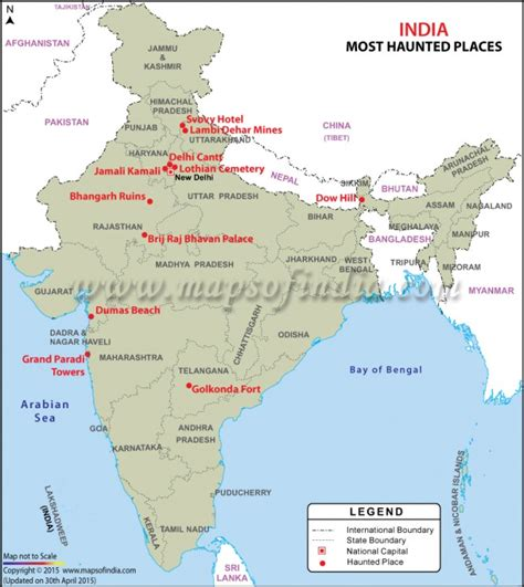 In India by Top 11 Most Haunted Places In India Bhangarh Ruins