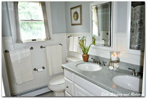 5 must see bathroom transformations bathroom ideas 5 budget bathroom transformations by a morris county stager