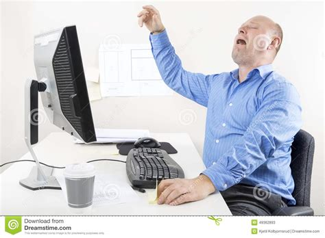 whining at businessman and whining at the office stock photo image 49362893