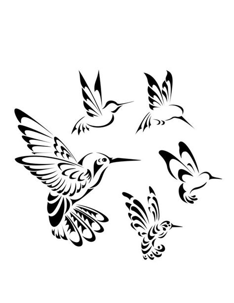 hummingbird tattoo tribal 1000 images about colouring and outlines on