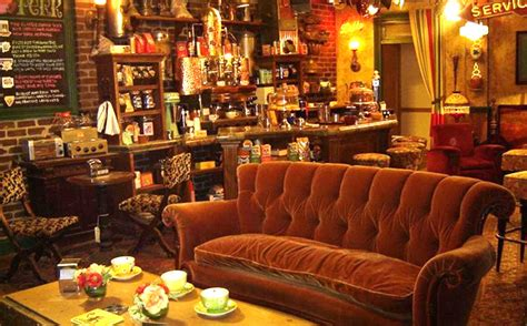 friends sofa replica friends pop up replica coffee shop coming to nyc this