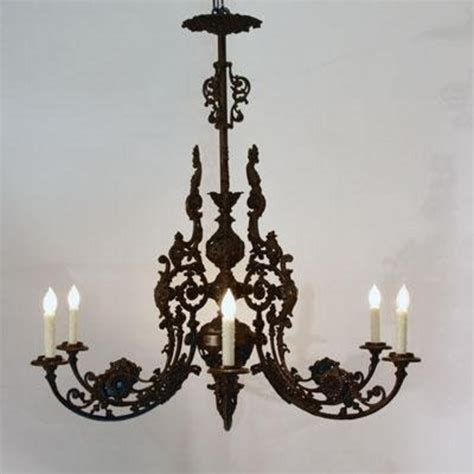 cast iron chandelier antique cast iron chandelier h29824425 for sale