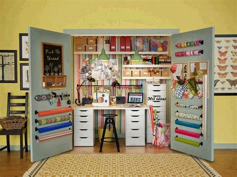 Craft Closet Organization Ideas by Craft Closet Craft Shop Organization Ideas
