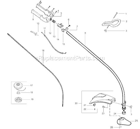 Poulan Te450cxl Fuel Line Diagram