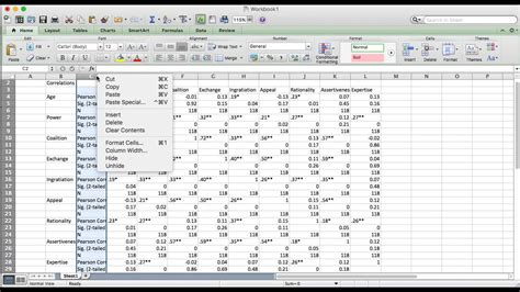 pattern matrix spss youtube how to make a report ready correlation matrix quickly