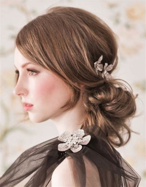 Formal Hairstyles For Medium Hair With Bangs by 15 Inspirations Of Updos For Medium Hair With Bangs