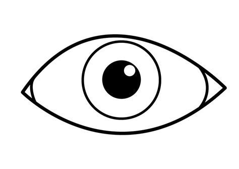 Eyeball Coloring Pages coloriage oeil img 26921