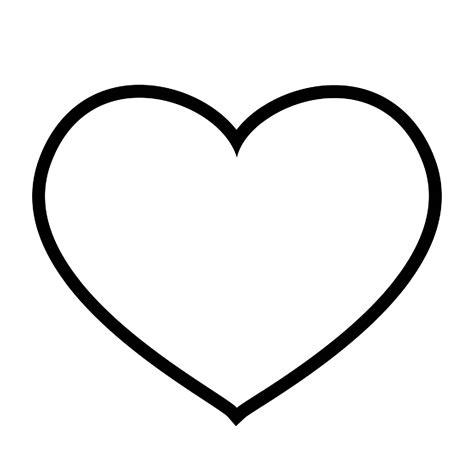 imagenes de corazones sencillos dibujos de corazones para colorear decorazones org