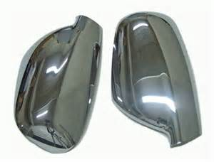 Peugeot 407 Wing Mirror Chrome Wing Mirror Covers Set For Peugeot 407 307 New
