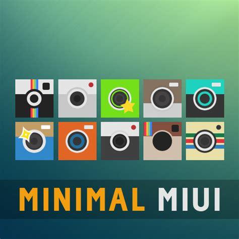 Miui Themes Has Stopped | minimal miui go apex nova theme camera icons by