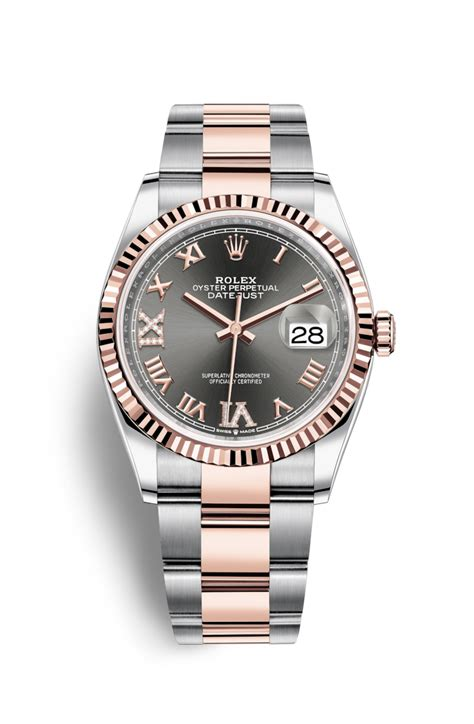 Rolex Classical Combi Black Gold rolex datejust 36 everose rolesor combination of oystersteel and 18 ct everose gold