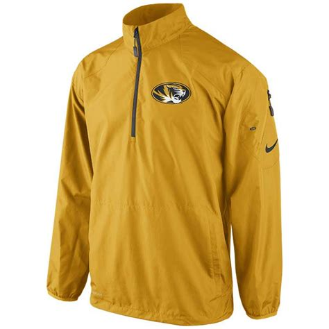 Sweter Jaket Ziper Nike lyst nike mens missouri tigers halfzip pullover jacket