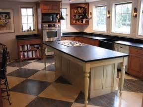 Larger countertop to the structure and you have a farm table island