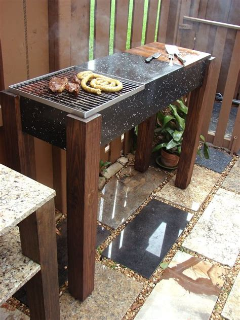 10 diy bbq grill ideas for summer balcony garden web