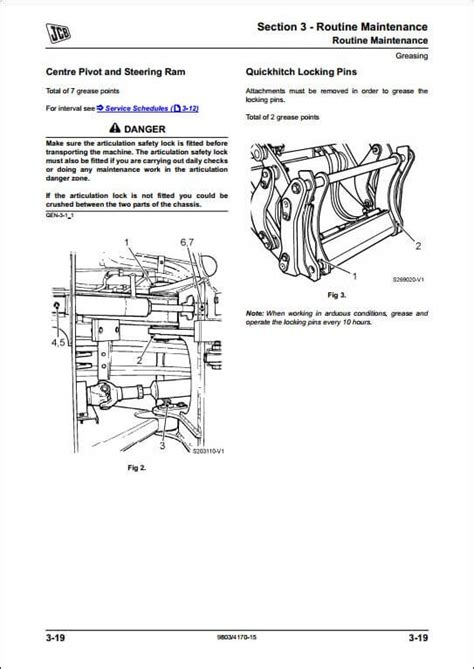 jcb sss wheeled loader service repair manual