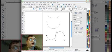 how to use the corel draw bezier tool for scroll saw