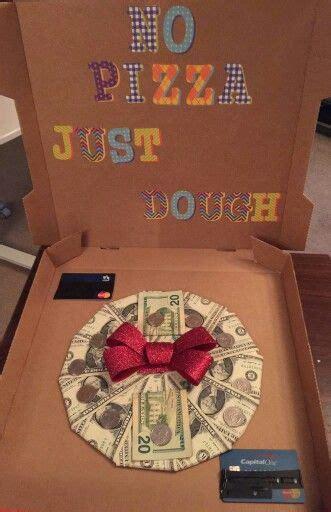No Pizza Just Dough Gift  Ee  Ideas Ee   Pinterest