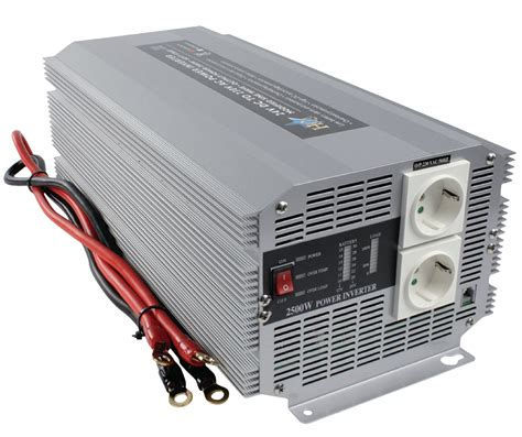 Power Bell 500 Watt hq inv2500 24 hq power inverter modified sine wave 24 vdc ac 230 v 2500 w f cee 7 3