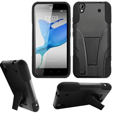 zte android cases phone for talk zte quartz android prepaid smartphone cover stand