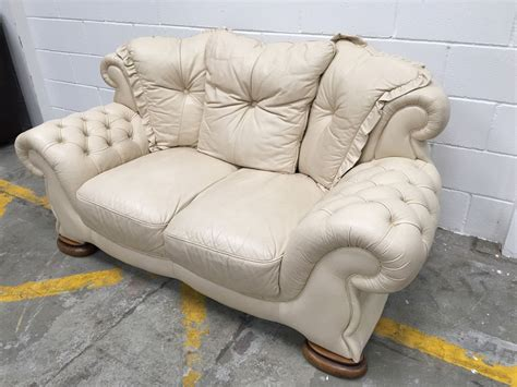 cream leather chesterfield sofa best white leather chesterfield sofa with cream