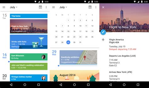 calendar design in android 10 material design android apps you should be using right