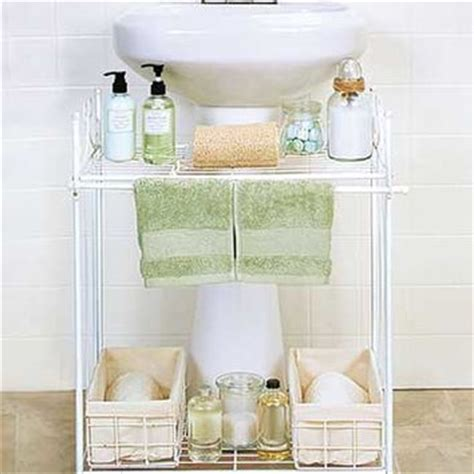 pedestal sink shelves with baskets from ltdcommodities