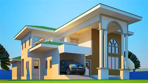 House Plans Ghana Mabiba 5 Bedroom House Plan