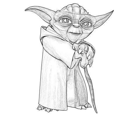 master yoda coloring page yoda concept art star wars the artist s quest