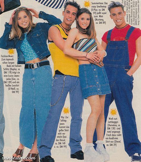 90er Mode Typisch by Vongestern Modekn 252 Ller Der 90er Jahre 1997