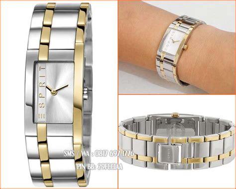 0 Jam Esprit Tikar Kombinasi Gold promo jam tangan wanita original esprit es000j42084