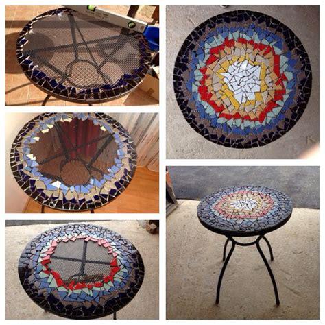 mosaic diy projects mosaic table my diy project mosaic designs