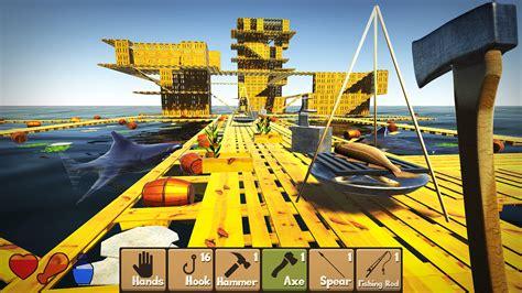 raft survival simulator mod  android raft